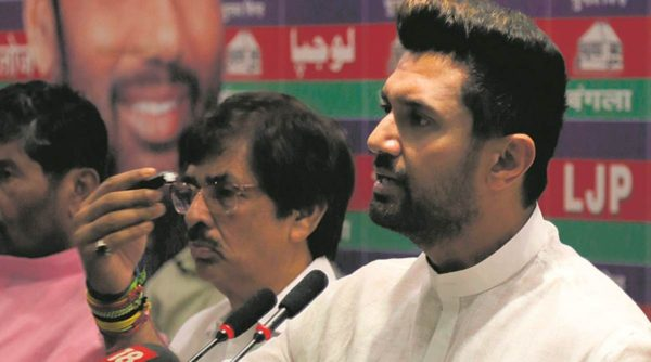 Chirag Paswan 'upset' with Jitan Ram Manjhi's inclusion in NDA
