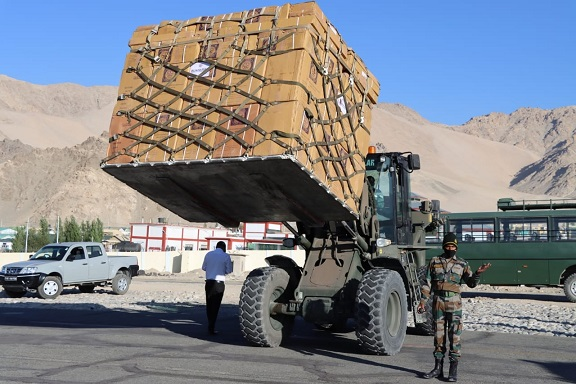 Indian Army stocks up for long haul in eastern Ladakh