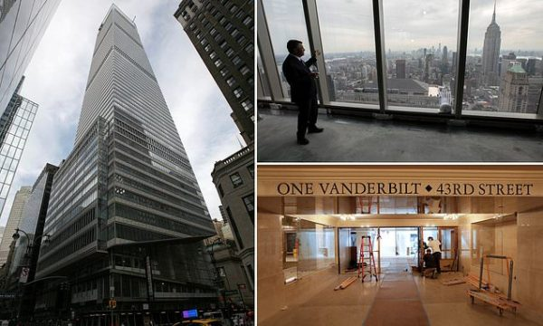 New York: New tower opens as pandemic crushes Manhattan office market