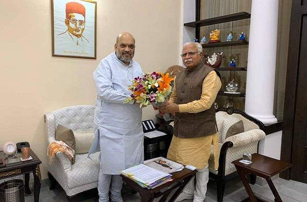 Manohar Lal Khattar meets Amit Shah, discusses farm bills among other issues