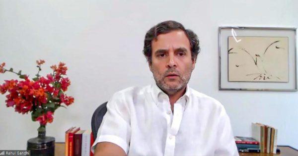 Government privatising PSUs, destroying jobs: Rahul Gandhi