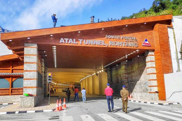 Prime Minister dedicates to the Nation the Atal Tunnel