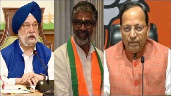 BJP retains Hardeep Puri, Arun Singh, Neeraj Shekhar in Rajya Sabha