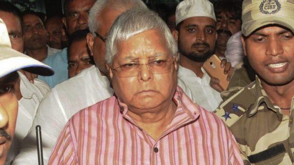 Lalu Prasad Yadav gets bail in Chaibasa treasury case, to remain in jail