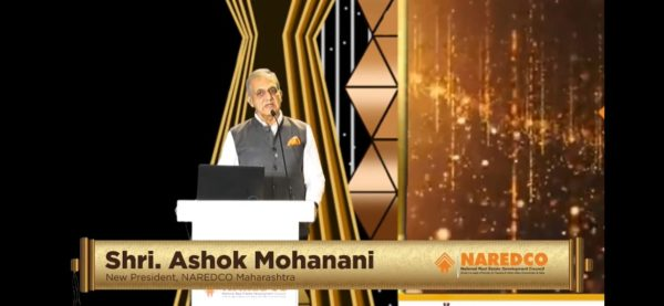 Ashok Mohanani takes charge as new NAREDCO West President