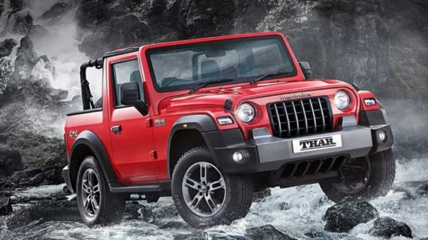 Mahindra set to deliver 1,000 'All-New Thar' SUVs during Diwali