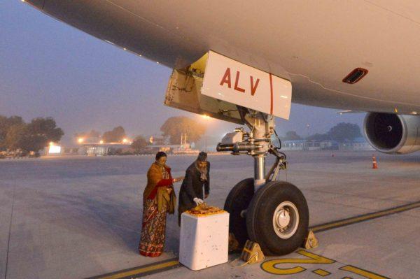 Ram Nath Kovind inaugurates Air India One flight