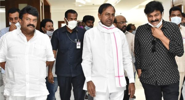 KCR promises all help to Telugu film industry