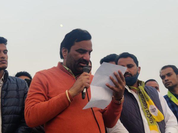 Rift in NDA in Rajasthan as Nagaur Lok Sabha MP supports farmers protest