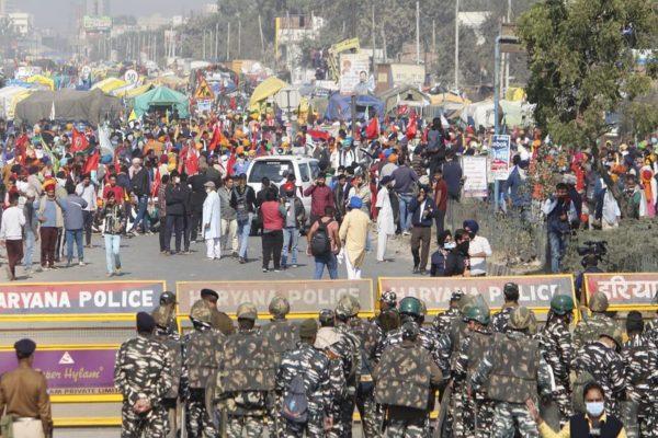 North Delhi ground becomes epicentre of farmers' protest