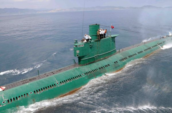 North Korea building two submarines, one capable of firing ballistic missiles