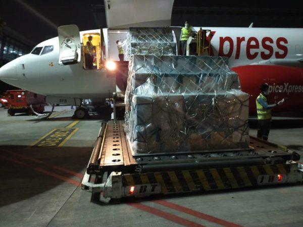 SpiceJet handles 10,000 cargo flights since lockdown in late March