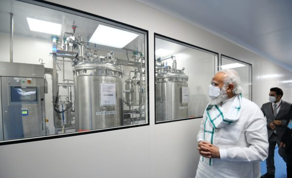 Narendra Modi reviews COVID-19 vaccine development in Pune, Ahmedabad and Hyderabad