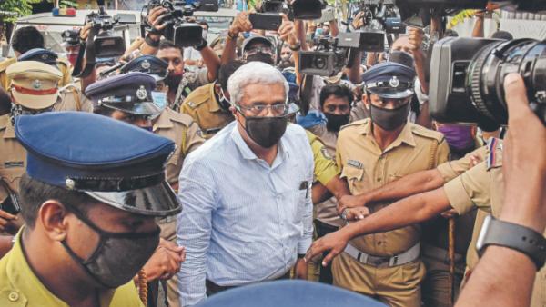 Customs arrest suspended IAS officer in gold smuggling case