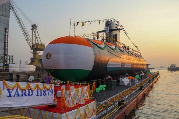 India launches its 5th Scorpene submarine in Mumbai