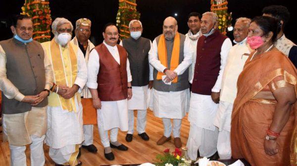 Bihar Chief Minister Nitish Kumar distributes portfolios to cabinet, retains home and vigilance