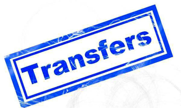 Six IAS officers transferred in Rajasthan