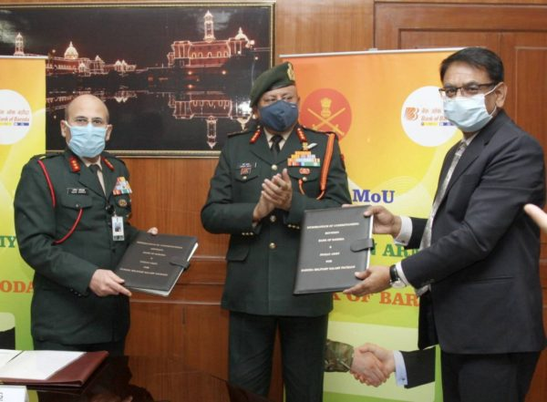 Indian Army signs MoU with Bank of Baroda for new 'Baroda Military Salary Package'