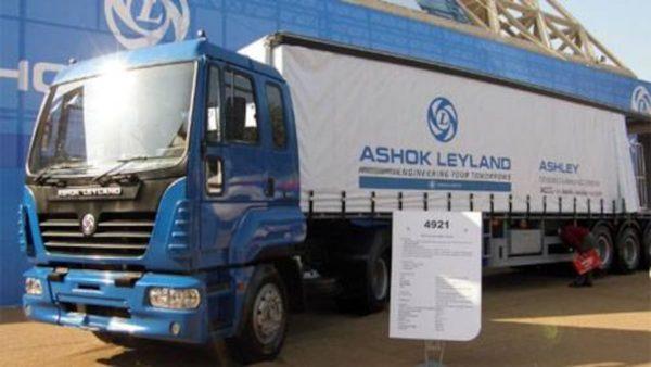 Ashok Leyland sells 12,762 trucks in December 2020