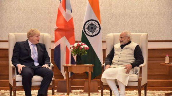 Boris Johnson invites Narendra Modi to UK for G7 summit in June