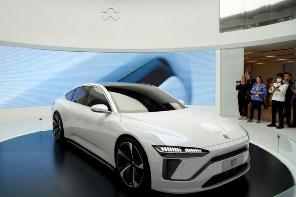 Nio launches first electric sedan model as Tesla delivers China-built SUV