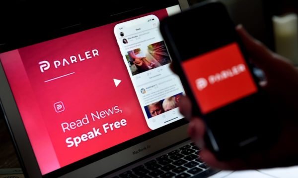 Parler goes offline after Google, Apple and Amazon ban over US Capitol siege