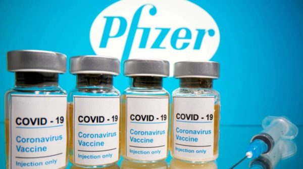 WHO recommends two doses of Pfizer COVID-19 vaccine within 21-28 days