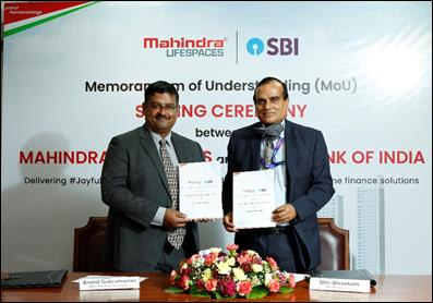 Mahindra Lifespaces joins hands with State Bank of India