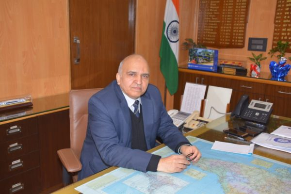 Suneet Sharma takes over the charge of new Chairman & CEO of Railway Board