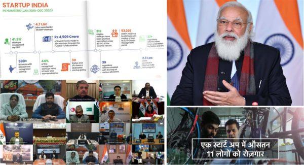 Narendra Modi announces Rs 1000 crore Startup India seed fund