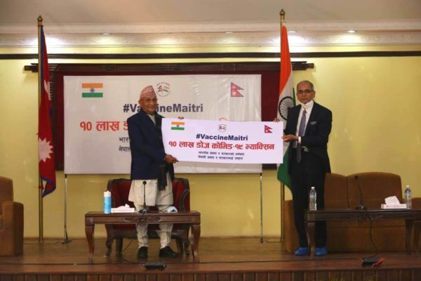 Vaccine diplomacy: Nepal, Bangladesh, Bhutan and Maldives get India's anti-COVID-19 doses
