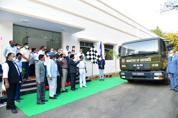 Final production batch of LRSAM Missiles flagged off