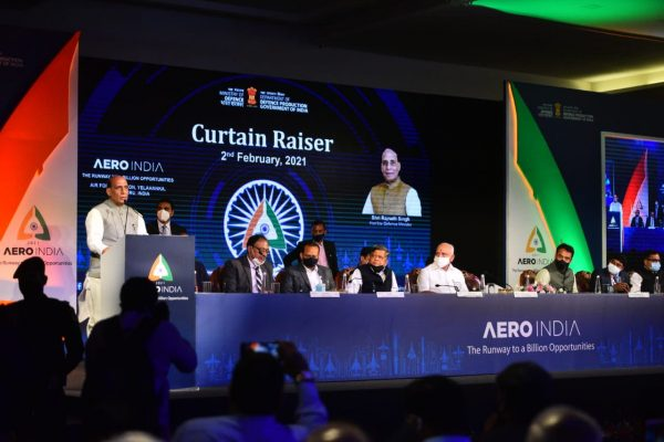 About 540 exhibitors would showcase their defence manufacturing prowess at Aero India 2021: Rajnath Singh