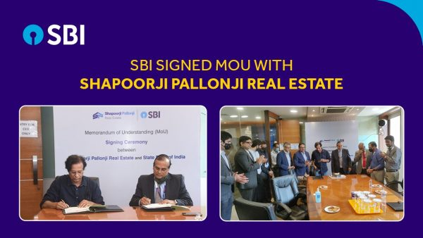 State Bank of India sign MoU with Shapoorji Pallonji