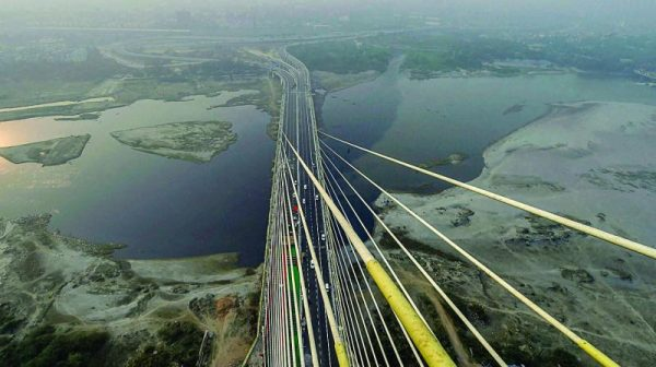 Delhi government announces road infrastructure projects