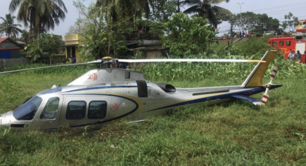 Chopper carrying Lulu Group head crash lands in Kerala; taken to hospital