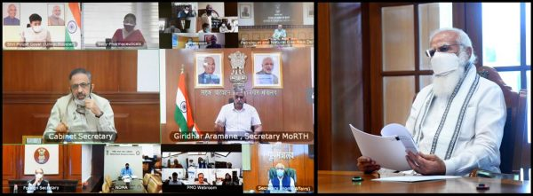 Narendra Modi holds a high level meeting on oxygen supply and availability