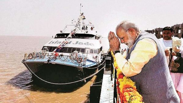 Rs 110 crore ROPAX Jetty Project to come up on river Dhamra in Odisha