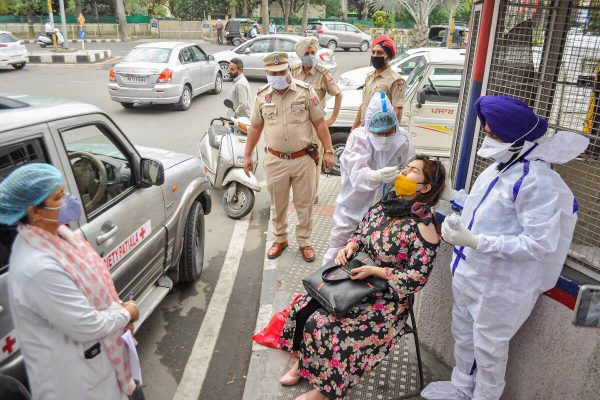 India records biggest single-day spike with 352,991 fresh Covid-19 cases