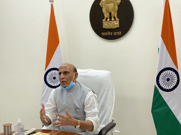 Rajnath Singh holds second meeting to review efforts of MoD and Armed Forces to fight current COVID-19 crisis