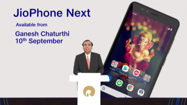 JioPhone Next, co-developed with Google, to be most affordable smartphone globally: Mukesh Ambani
