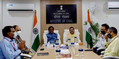 Danve Raosaheb Dadarao takes charge as Minister of State Coal and Minister of State Mines