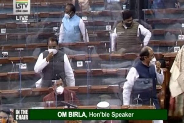 Lok Sabha sees repeated adjournments amid Opposition protests over Pegasus, farm laws