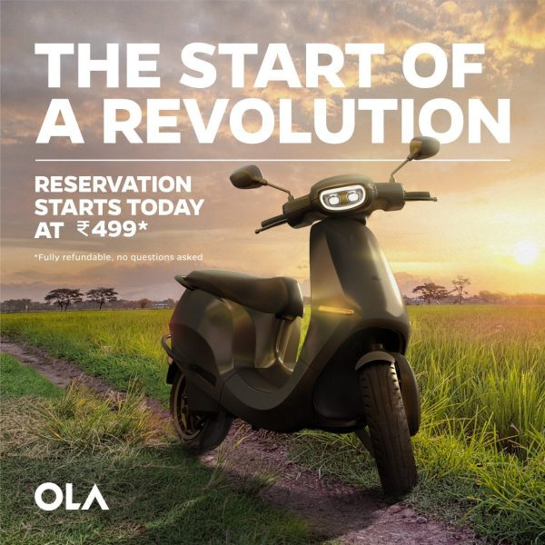 Ola says it got 100,000 bookings for electric scooter within 24 hours
