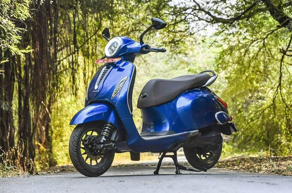 Bajaj Auto begins booking for electric scooter Chetak in Nagpur