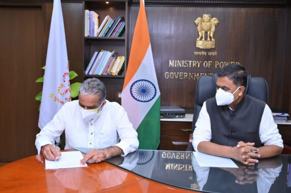 Raj Kumar Singh takes charge as Cabinet Minister of Power and New & Renewable Energy;Krishan Pal Gurjar takes charge as MoS