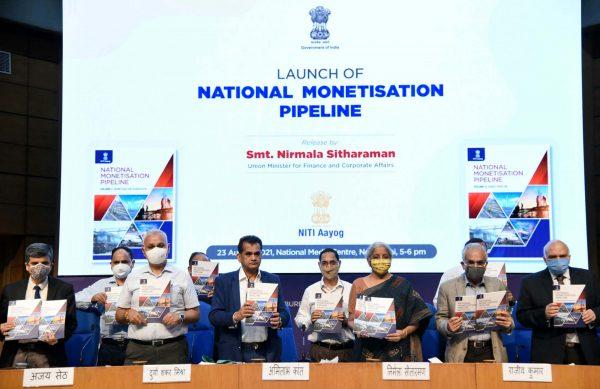 India announces Rs 6 lakh crore asset monetisation pipeline