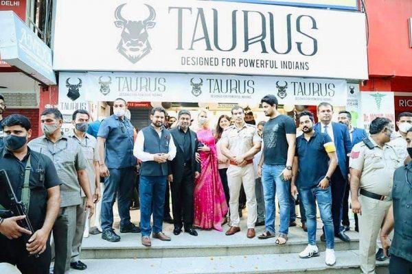 Business Tycoon Abhishek Verma inaugurates 'Taurus' flagship store in Noida