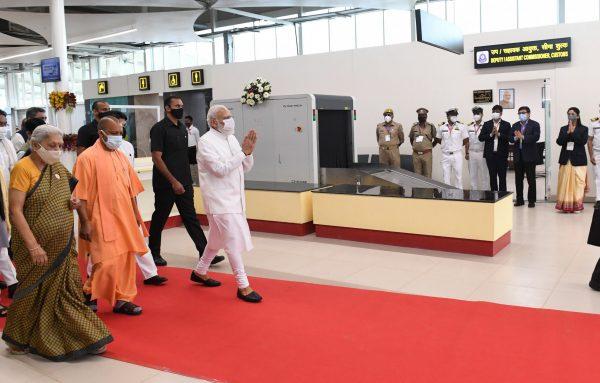 Narendra Modi inaugurates Kushinagar International Airport